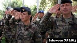 Сарбозони нерӯҳои байналмилалии зери раҳбарии НАТО дар Аффғонистон
