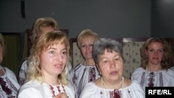 Українки - учасниці самодіяльного колективу в Італії