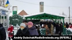 Пропускний пункт в Станиці Луганській, 5 січня 2019 року