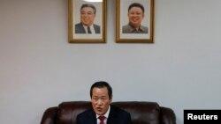 Посол Северной Кореи в ООН Ким Сонг, 7 декабря 2019.