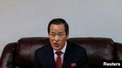 Посол Северной Кореи в ООН Ким Сонг, 7 декабря 2019 г.