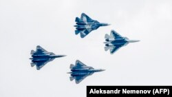 Ռուսական արտադրության Су-57 կործանիչներ, արխիվ