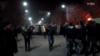 Բախում ոստիկանների և ցուցարարների միջև Գյումրիում Ռուսաստանի հյուպատոսարանի շրջակայքում, 15-ը հունվարի, 2015թ․
