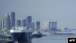 Pamje nga kryeqyteti Doha në Katar
