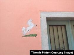 Граффити в Копере