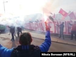 Protest na Cetinju, 22. januara, podstaknut je najavama o organizovanju litije SPC