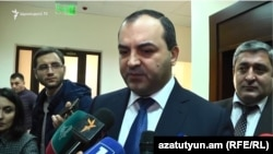 Генеральный прокурор Армении Артур Давтян