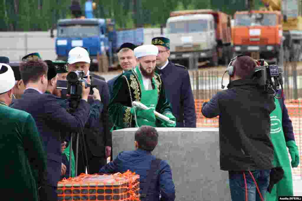 Татарстан мөфтие Камил Сәмигуллин Ислам академиясенә нигез ташы сала