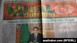 """Ahal durmuşy"" gazeti"