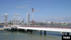 Ukraine's Yuzhny oil terminal