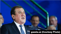 Tashkent Mayor Rakhmonbek Usmanov (file photo)