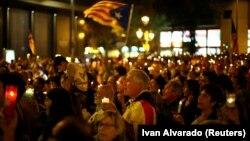 Каталония мөстәкыйльлеге тарафдарлары митингы