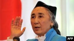 Рабия Кадыр, президент Всемирного уйгурского конгресса.