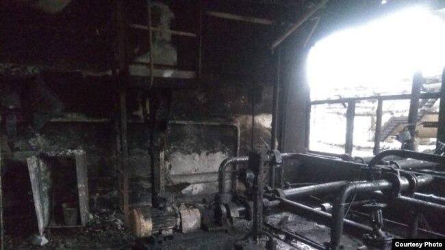 Наслідки вибуху на Дніпровському коксохімі