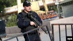 Сотрудник сил безопасности Турции. Иллюстративное фото.