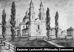 Полацкая езуіцкая акадэмія. Малюнак Напалеона Орды