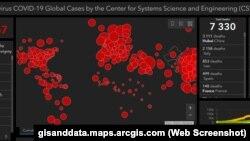 Динаміка поширення коронавірусу в світі