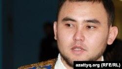 Мұхтар Ниязов, айтыскер ақын. Алматы, 11 ақпан 2012 жыл.
