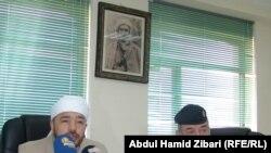 رئيس اتحاد علماء الدين الاسلامي في إقليم كردستان العراق مدير عام دائرة المرور في الاقليم في مؤتمر صحفي