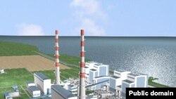 Графическая модель Балхашской ТЭС. Иллюстративное фото.