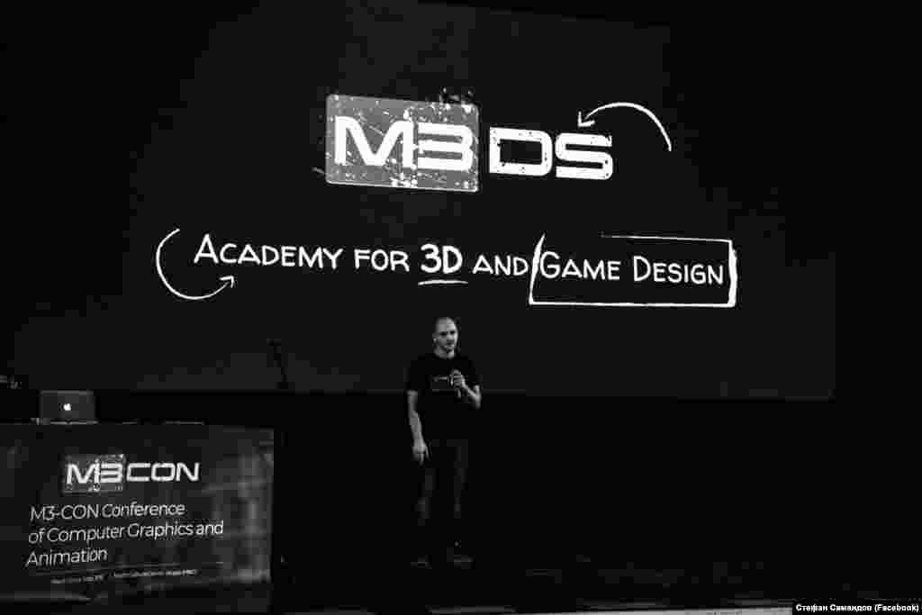 Стефан Митров, основач на Академијата М3ДС