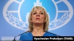 Портпаролката на руското Министерство за надворешни работи, Марија Захарова