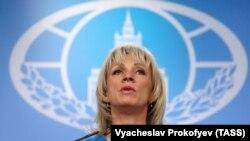 Мария Захарова, представитель МИД России