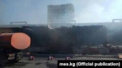 Бишкектеги өрт. 22-октябрь, 2017-жыл.