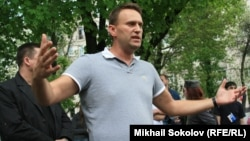 Алексей Навальный, российский блогер и оппозиционер.