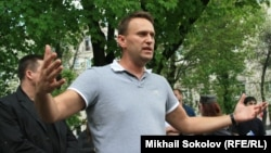 Activist Aleksei Navalny was among those detained by Moscow police on May 8.