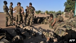 Ֆրանսիացի զինծառայողները Մալիում, հունվար, 2013թ.