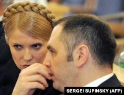 Свого часу Андрій Портнов був чільним юристом у Юлії Тимошенко, фото 19 лютого 2010 року. Через півтора місяця він уже працюватиме у президента Віктора Януковича