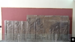 Bas relief from Persepolis at the National Museum. Photo by Ali Mozaffari 2011.