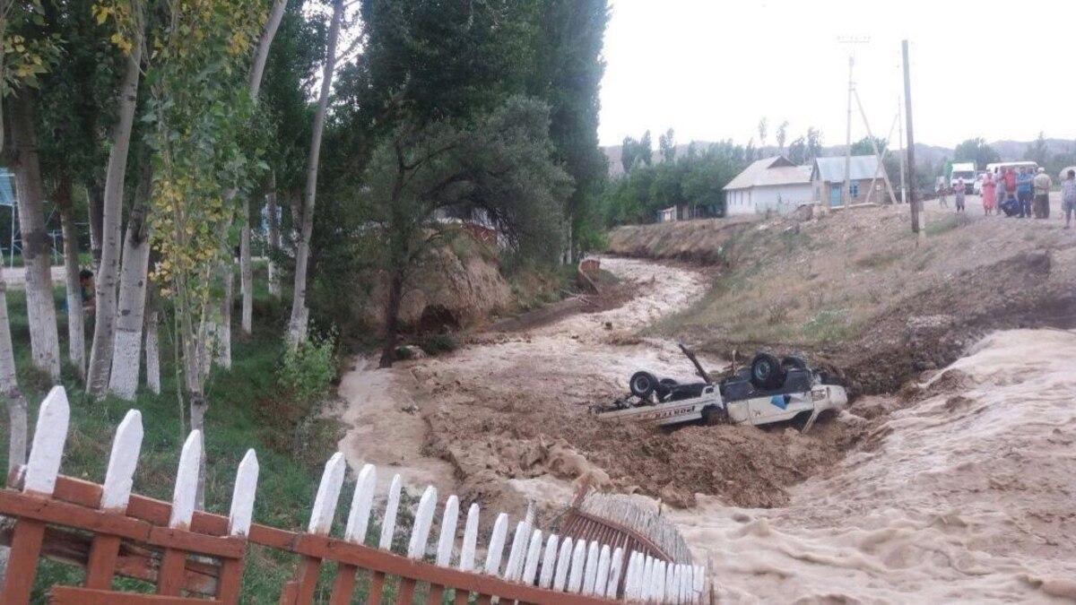 В Таджикистане из-за схода селевых потоков погибло 10 человек