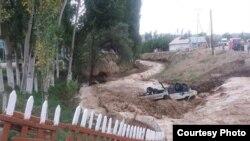 На прошлой неделе сильные дожди вызвали массовые селевые оползни в соседних Кыргызстане и Узбекистане, иллюстрационное архивное фото