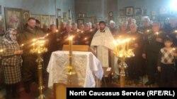Во Владикавказе прошла панихида в память об убитых казаках