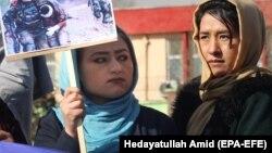د افغانستان فعالانو د مسکو په ناسته کې د ځېنو طالب چارواکو څرګندونو ضد مظاهره وکړه