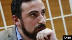 Дмитрий Цорионов в Тверском суде Москвы, 22 сентября 2015 г.