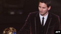 """Lionel Mesi ka marrë çmimin """"Ballon d'Or"""" për vitin 2011 nga Federata Botërore e Futbollit - FIFA"""