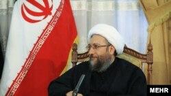 صادق لاریجانی رییس قوه قضائیه ایران