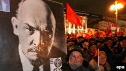 Moskvada kommunistlərin nümayişi, 2007