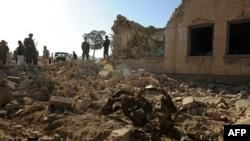 Pamje nga një sulm i mëparshëm i talibanëve në Farah të Afganistanit