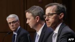 SUA - Șefi din cadrul Facebook, Google și Twitter la o audiere precedentă din Congres