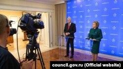 Matvijenko i Čović razgovarali su u ponedjeljak, 10. februarau Moskvi