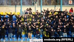 Фанаты на матчы «Тарпэда-БелАЗ» - «Белшына» 27 сакавіка