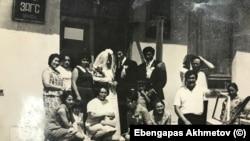 Свадьба в Целинограде. Фото из личного архива Эбенгаппаса Ахметова.