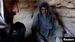 ارشیف، د افغان معتادینو یو انځور