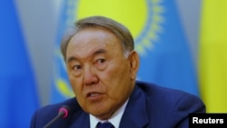 Kazakh President Nursultan Nazarbaev has ruled the country since it gained independence in 1991.