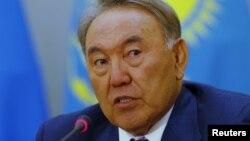 Президент Казахстана Нурсултан Назарбаев.