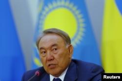 Қазақстан президенті Нұрсұлтан Назарбаев. Астана, 9 қазан 2015 жыл.